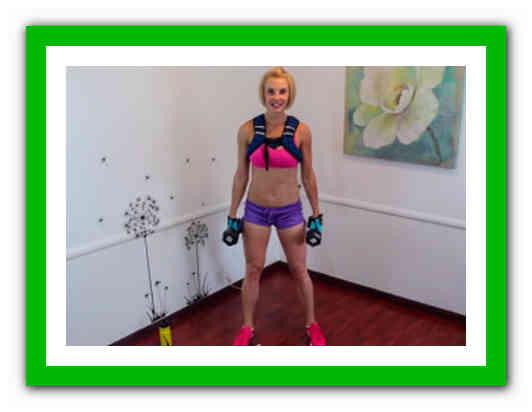 Видео Урок Похудения На Дому. Фитнес для похудения видео