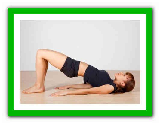 Упражнения для похудения таза и ляшек